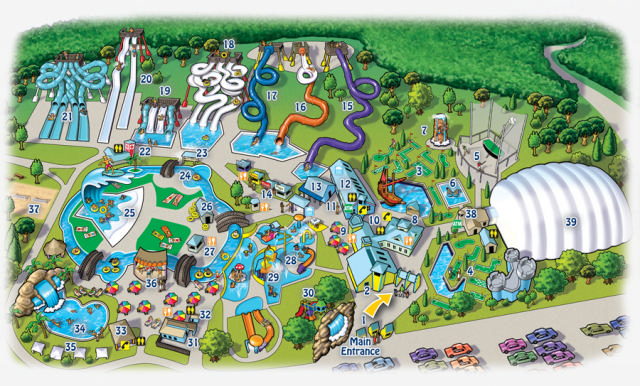 Wild Water Kingdom Map